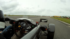 Ariel Atom onboard camera 7 of 7 Stock Footage