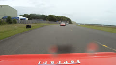 Ferrari TR61 following 360 spyder 2 - stock footage