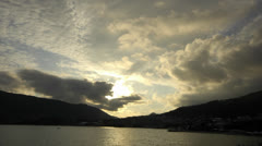 Bay of Kotor timelapse Stock Footage