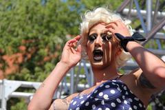 Gay Pride Parade 2013 J - stock photo