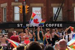 Gay Pride Parade 2013 D Stock Photos