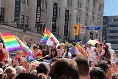 Gay Pride Parade 2013 F - stock photo