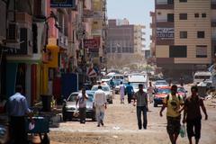 Stock Photo of Hurghada street