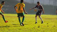 Soccer Match - Action 4 Stock Footage