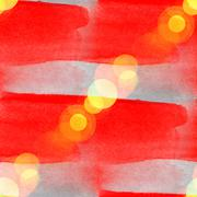 Stock Photo of sun glare watercolor red gray for your design