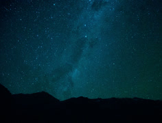 Stars in Chile, Timelapse Stock Footage