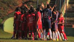 Soccer Match - Action 6 Stock Footage
