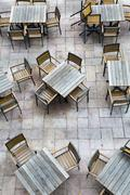 Empty chairs Stock Photos