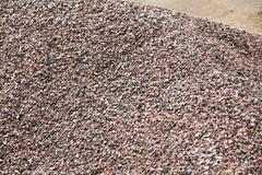 heap of gravel - stock photo