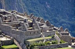 Citadel of Machu Picchu Stock Photos
