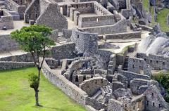Cittadelle of Machu Picchu Stock Photos