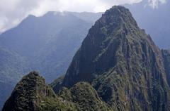Wayna Picchu Stock Photos