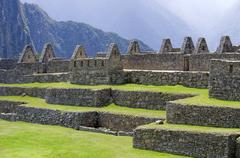 Citadel of Machu Picchu Stock Photos