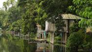 Lake Dwellings Stock Footage
