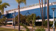 Palacio de Exposiciones y Congresos Stock Footage