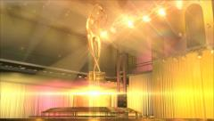 Gold awards Stock Footage