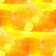 Sun glare watercolor yellow your design Stock Photos
