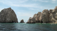 Mexico - El Arco de Cabo San Lucas - Part 3 Stock Footage