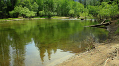 Stock Video Footage of Yosemite LM101 Merced River