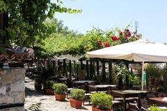 view of city old nessebar, bulgaria. unesco world heritage site. - stock photo