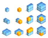 Stock Illustration of cubes