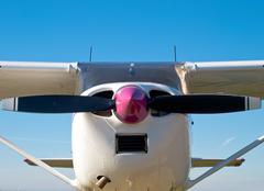 small plane - stock photo