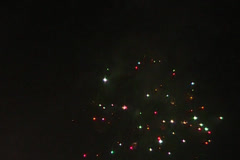 fireworks nights  - stock footage