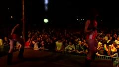 Dancing girls go go Stock Footage