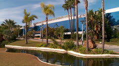 Convention center, Spain Stock Footage