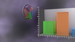 Chart Journey - stock footage