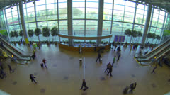 Stock Video Footage of Lobby airport