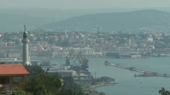 Trieste town view Stock Footage
