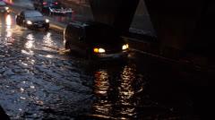 Toronto Storm Flooding 3 Stock Footage