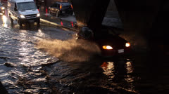 Toronto Storm Flooding 4 Stock Footage