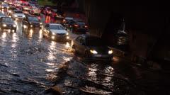 Toronto Storm Flooding 5 Stock Footage