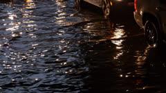 Toronto Storm Flooding 7 Stock Footage