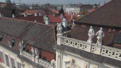 Belvedere Vienna Stock Footage