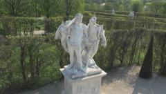 Belvedere statue Stock Footage
