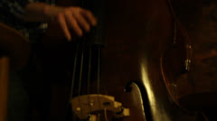 Contrabass Stock Footage
