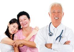 Asian expertise medical doctor Stock Photos