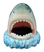 Novelty Plastic Shark - stock photo