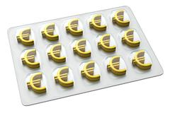 Pharmaceutical Business - Euro Stock Illustration