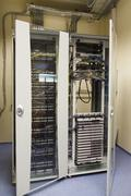 Palvelimet ja laitteistojen Internet Data Center Kuvituskuvat