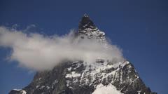 Matterhorn, Zermatt, Switzerland Ultra HD - stock footage