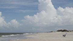 Hatteras Beach Stock Footage