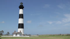 Bodie Island Lighthouse Stock Footage