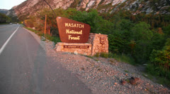 Wasatch National Forest Stock Footage