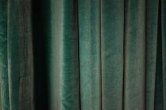 Velvet curtain texture background Stock Photos