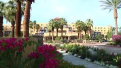 Renaissance Hotel in Palm Springs Stock Footage