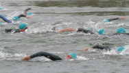 Stock Video Footage of triathlon 12